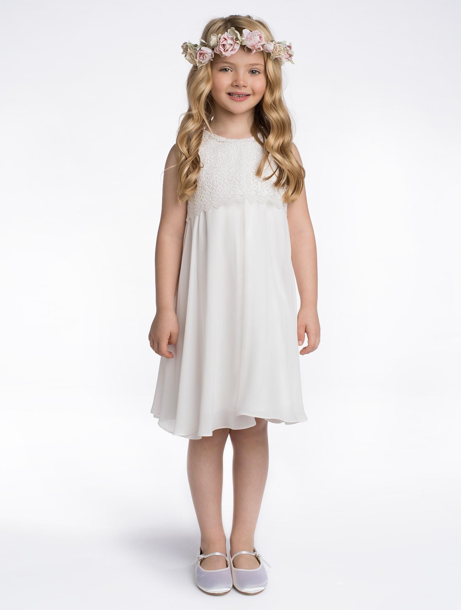 14a7d6af955 Dívčí šaty Tilly ivory 8-9 let