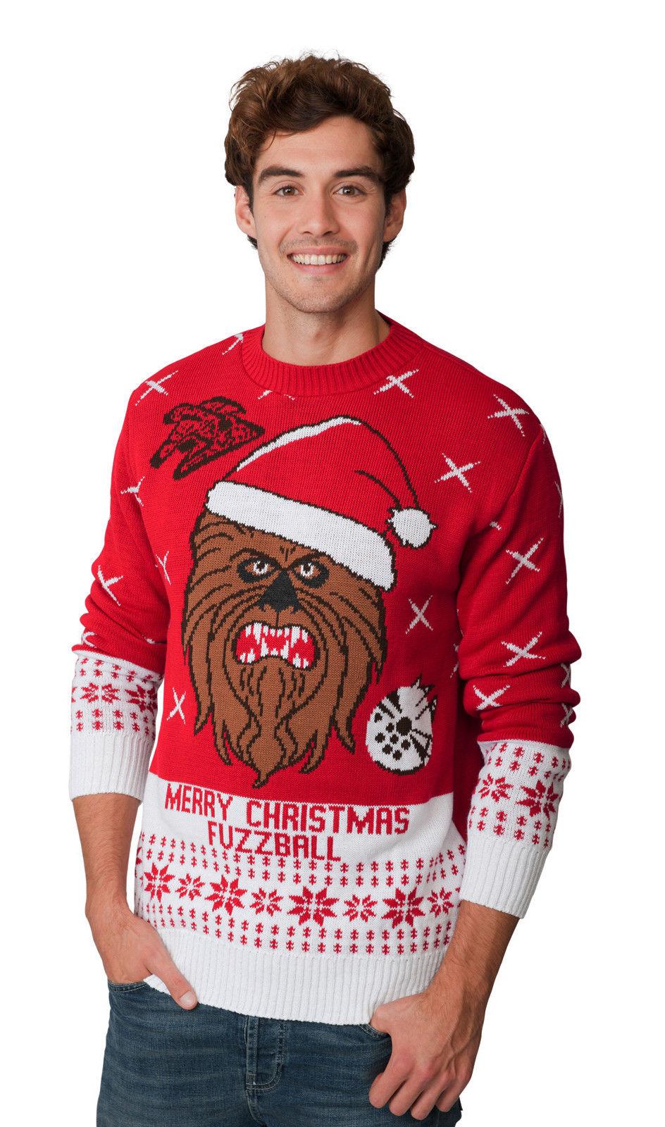 c8b6f21eb74 Chewbacca Star Wars vánoční svetr