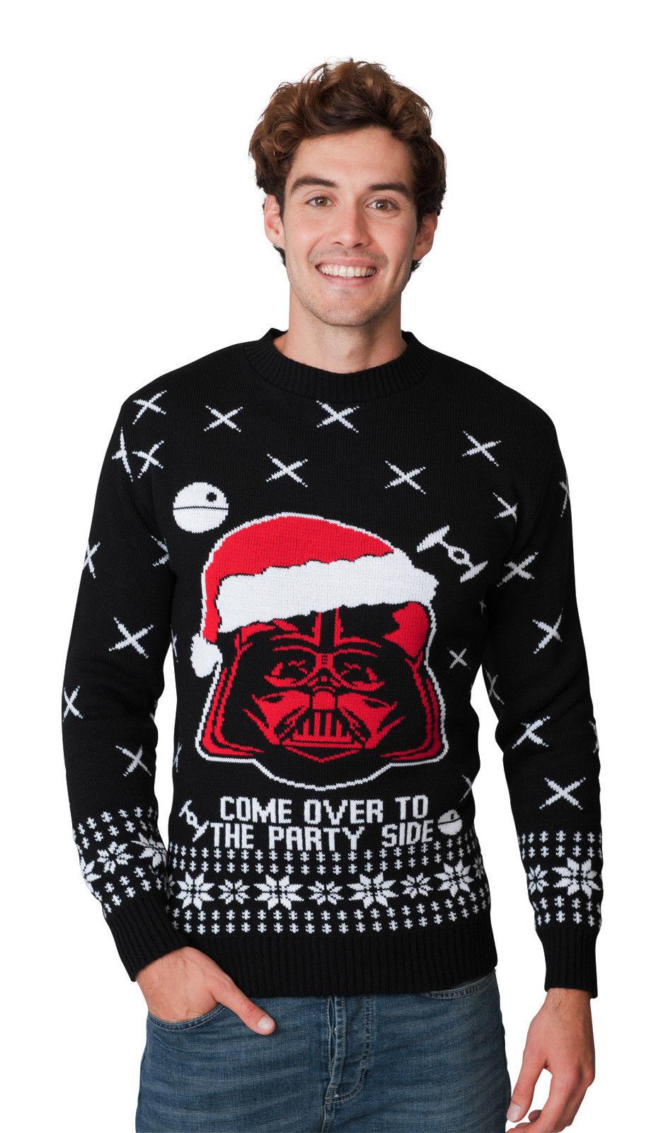 24ada7e02cd Darth Vader Star Wars vánoční svetr empty