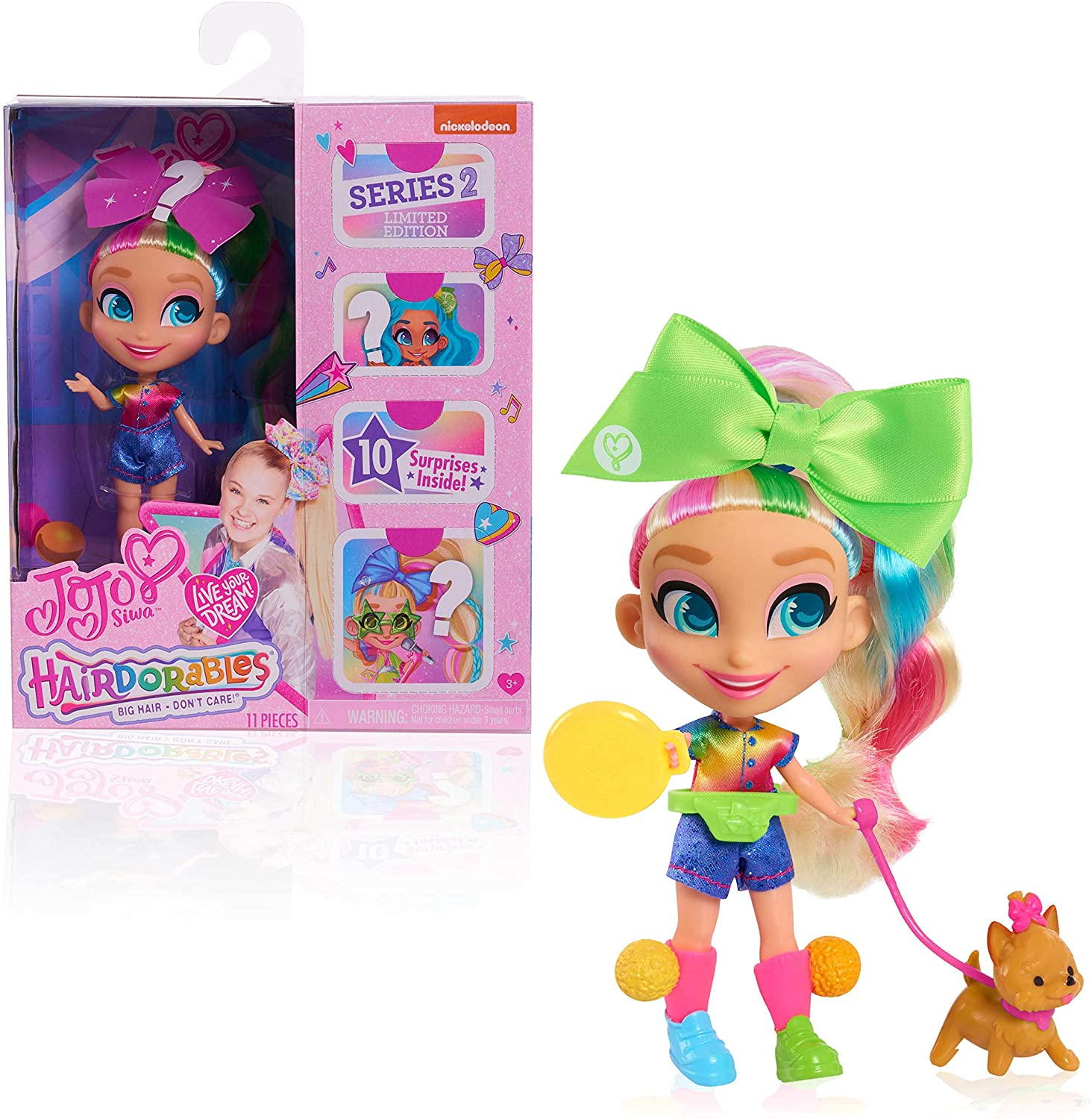 JoJo Siwa panenka D.R.E.A.M Limited Edition Hairdorables
