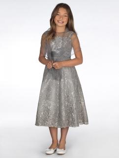 030ff9fd95c Dívčí společenské šaty Diana 10 let empty